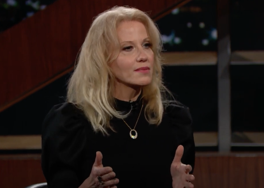 Kellyanne Conway spoke about her time in the Trump White House on an episode of Bill Maher's 'Real Time' on 15 January 2021 (Real Time with Bill Maher - HBO)