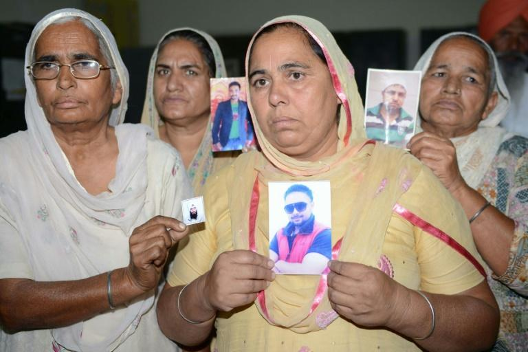 Thirty-nine Indian workers were abducted in June 2014 when IS jihadists overran large swathes of territory in Iraq and captured Mosul -- India has confirmed they are dead