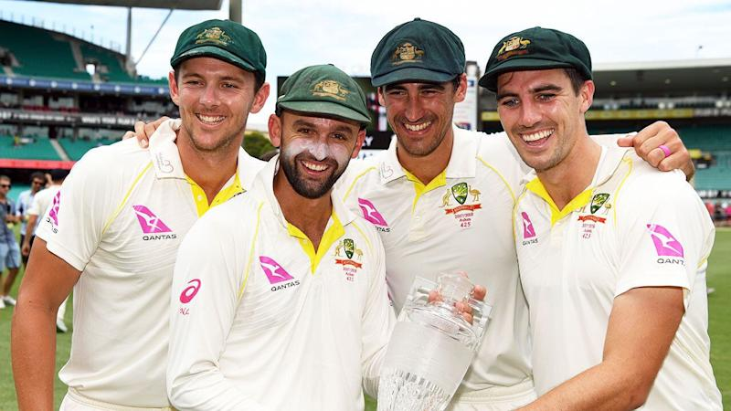 Australia's bowlers have strongly denied having any knowledge of the ball-tampering plot. Pic: Getty