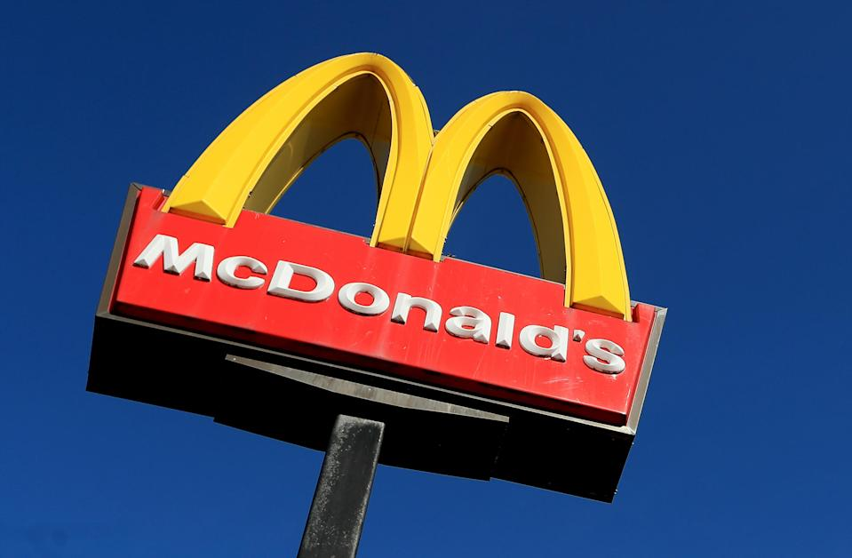 In total, 39 McDonald's drive-throughs are open in the UK. (Getty)