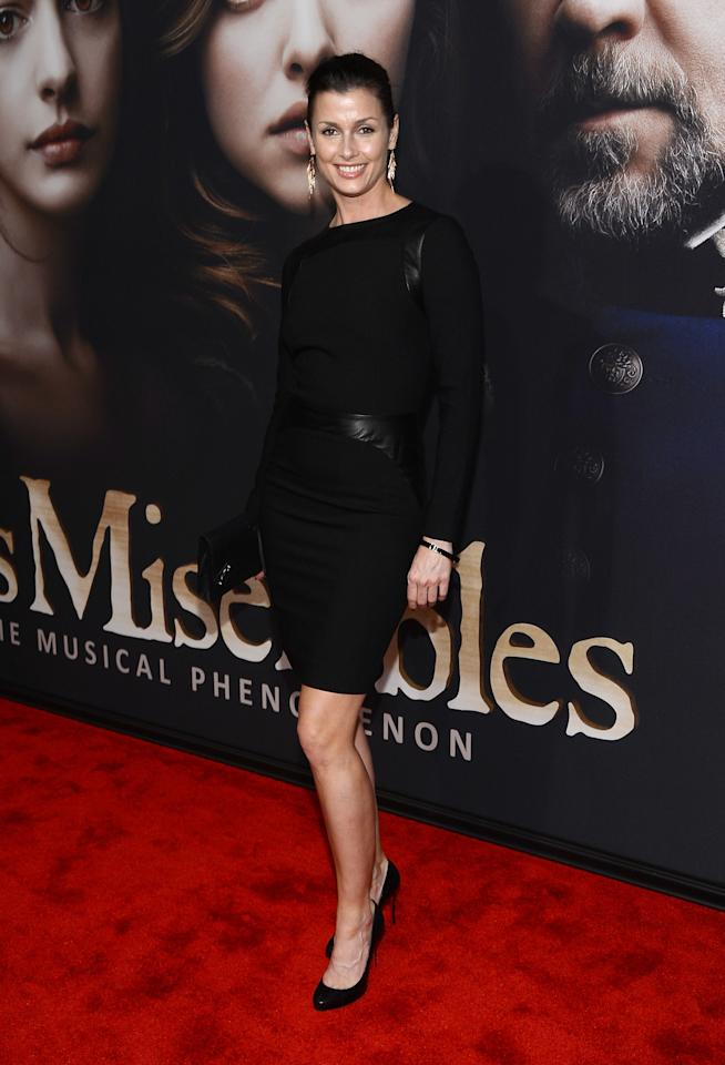 """NEW YORK, NY - DECEMBER 10:  Bridget Moynahan attends the """"Les Miserables"""" New York Premiere at Ziegfeld Theater on December 10, 2012 in New York City.  (Photo by Larry Busacca/Getty Images)"""