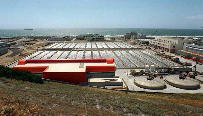 Hyperion Treatment Plant in Playa Del Rey.