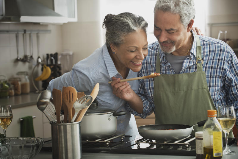 Revamping your cooking is as easy as replacing old cookware. (Photo: Getty Images)