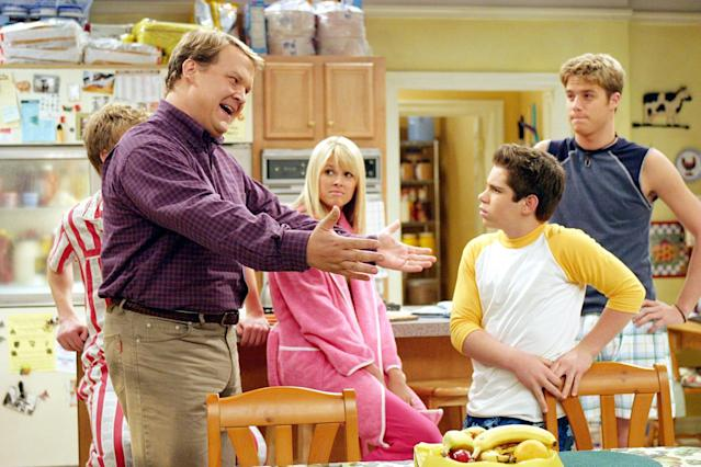 <p>After his short-lived (but much funnier) Fox show <em>Andy Richter Controls the Universe</em> was canceled, the comedian returned for this forgettable summer show about parents raising 5 teenagers. (Premiered June 16, 2004)<br><br>(Photo: Everett Collection) </p>