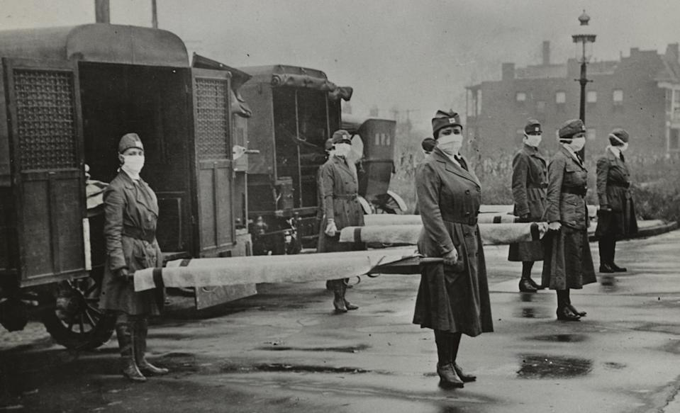The St. Louis Red Cross Motor Corps