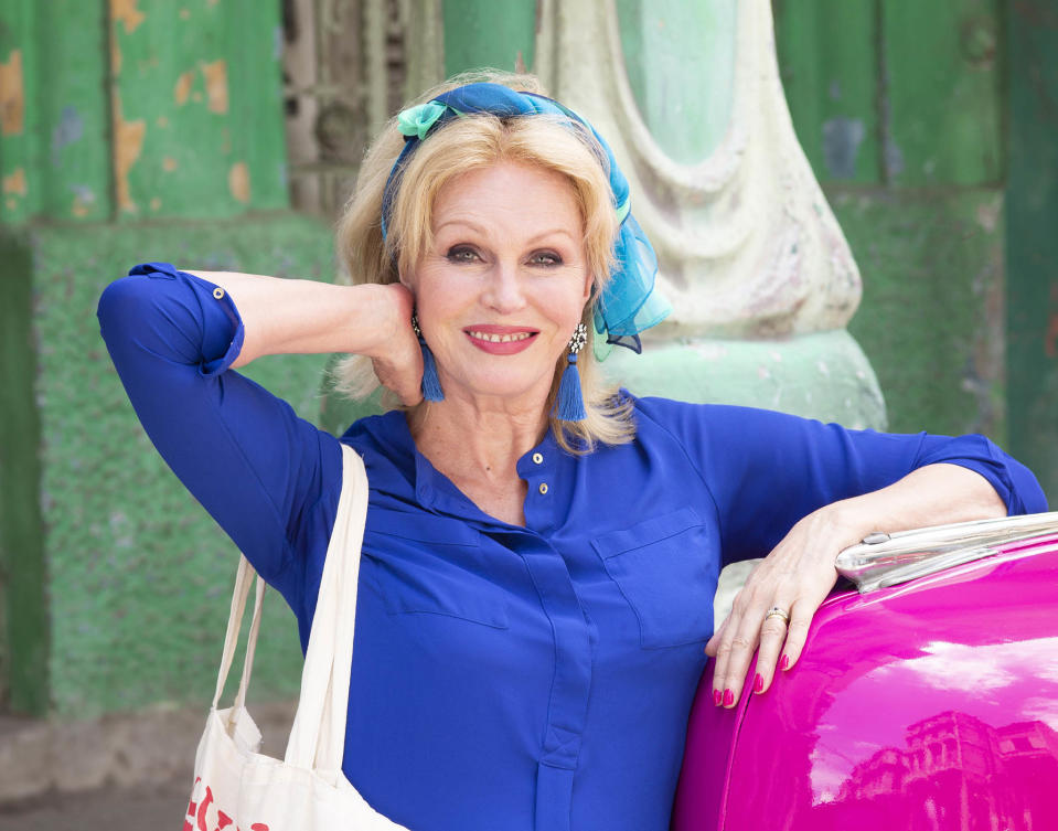 Joanna Lumley faced riots and robbers filming new documentary 'Hidden Caribbean' (ITV)