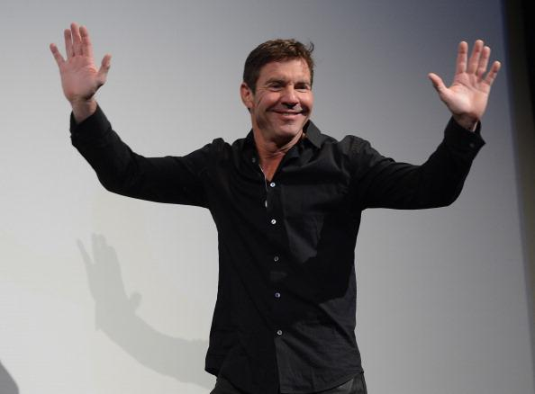 Actor Dennis Quaid speaks at the screening for 'At Any Price' during the 2013 SXSW Music, Film + Interactive Festival at the Paramount Theatre on March 16, 2013 in Austin, Texas.