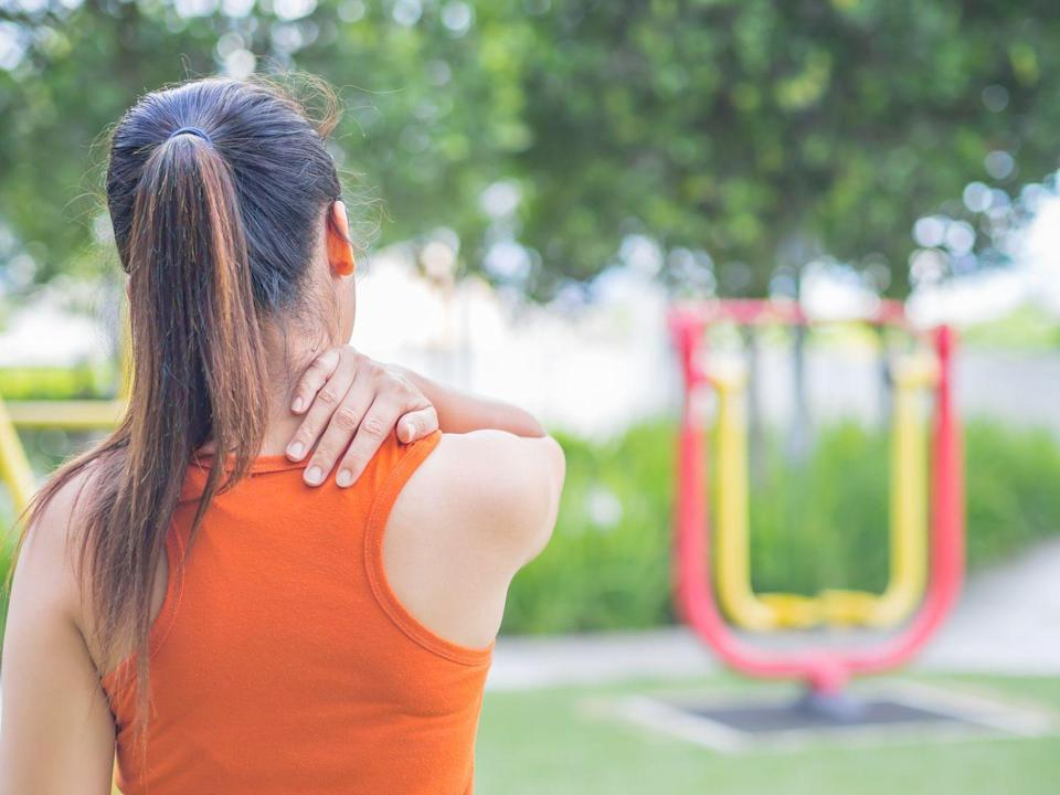 """<p>According to the American Chiropractic Association, 80 percent of the population will experience <a href=""""https://www.prevention.com/health/g20117503/upper-back-pain/"""" rel=""""nofollow noopener"""" target=""""_blank"""" data-ylk=""""slk:back pain"""" class=""""link rapid-noclick-resp"""">back pain</a> at some point in their lives. </p>"""