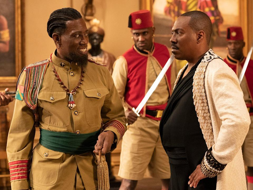 Snipes opposite Eddie Murphy in Coming 2 AmericaPhoto: Quantrell D. Colbert