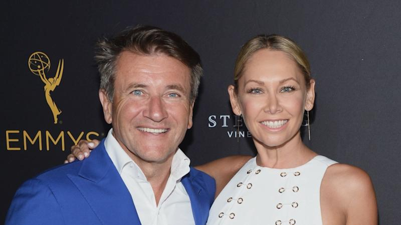 Kym Johnson Shares Sweet Photo With Robert Herjavec Moments After Giving Birth to Twins