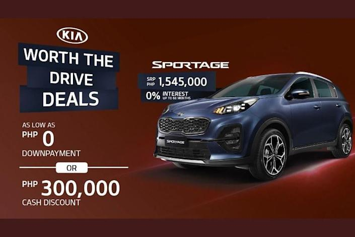 Kia Sportage August deal
