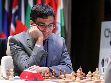 Norway's Magnus Carlsen, the reigning world chess champion, and India's Viswanathan Anand, his immediate predecessor, met over the board once again to script another chapter in their 14-year-old rivalry on Monday afternoon.