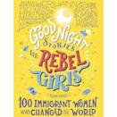 """<p><strong>Rebel Girls</strong></p><p>amazon.com</p><p><strong>$16.10</strong></p><p><a href=""""https://www.amazon.com/dp/1733329293?tag=syn-yahoo-20&ascsubtag=%5Bartid%7C10055.g.29417662%5Bsrc%7Cyahoo-us"""" rel=""""nofollow noopener"""" target=""""_blank"""" data-ylk=""""slk:Shop Now"""" class=""""link rapid-noclick-resp"""">Shop Now</a></p><p>Let the short, bedtime-friendly stories of incredible women, everyone from Rihanna to Anne Hidalgo, inspire them to lead a life of change — no matter where their roots are tied. </p>"""