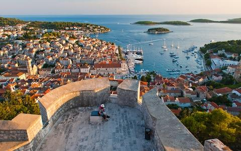 Hvar has also introduced fines for numerous alcohol-related misdemeanours - Credit: getty