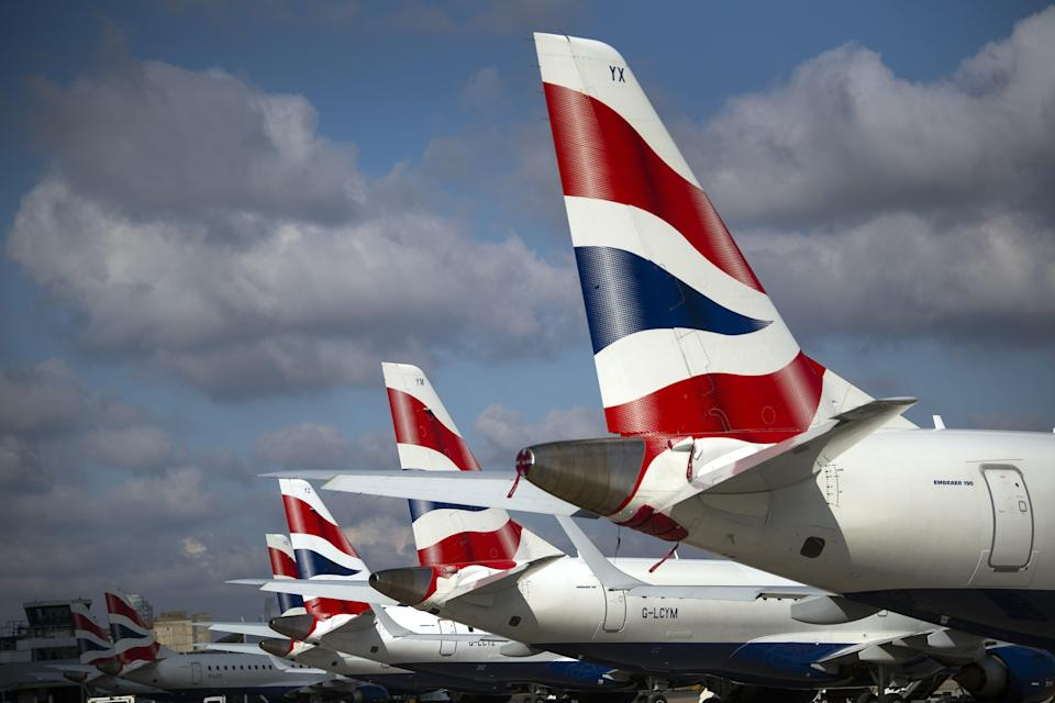Flight schedules are being ramped up by British Airways' parent company IAG, the firm has announced (Victoria Jones/PA) (PA Wire)