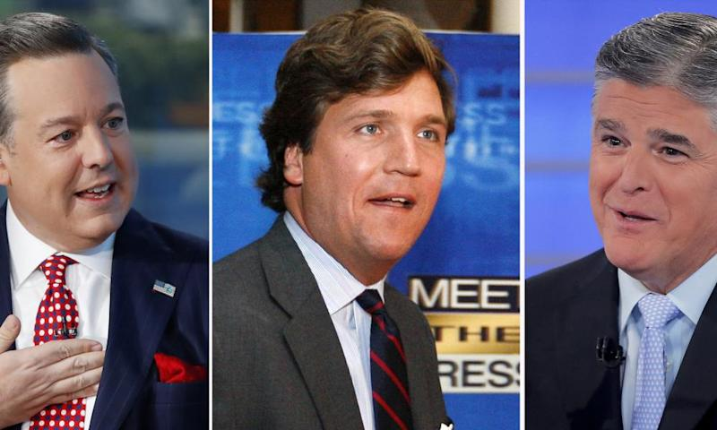 Ed Henry, Tucker Carlson and Sean Hannity are all the subject of fresh sexual misconduct accusations.