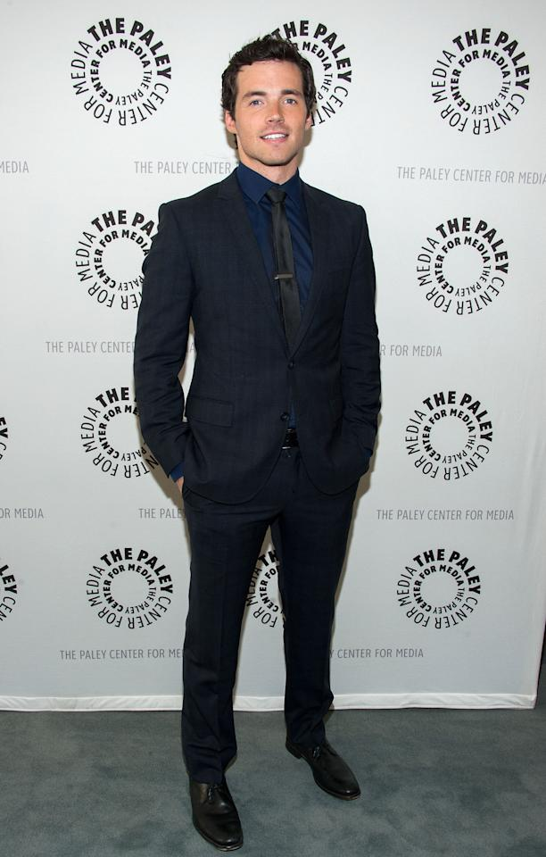 "BEVERLY HILLS, CA - JUNE 10: Ian Harding  attends The Paley Center For Media Presents An Evening With ""Pretty Little Liars"" at The Paley Center for Media on June 10, 2013 in Beverly Hills, California. (Photo by Valerie Macon/Getty Images)"