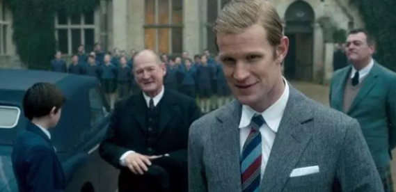 Matt Smith plays Prince Philip in The Crown seasons one and two, and his is often seen to be harsh towards Prince Charles. Photo: Netflix