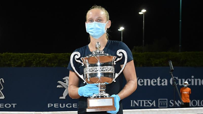 Ferro springs shock in Palermo, wins WTA's first tournament since March