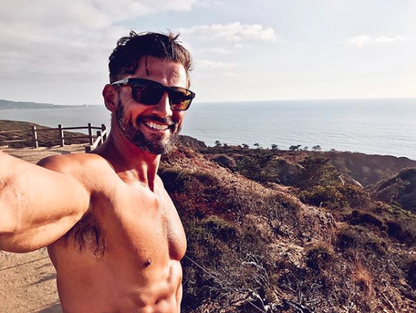 Tim Robards shares his tip tips for a healthy Christmas. Photo: Instagram