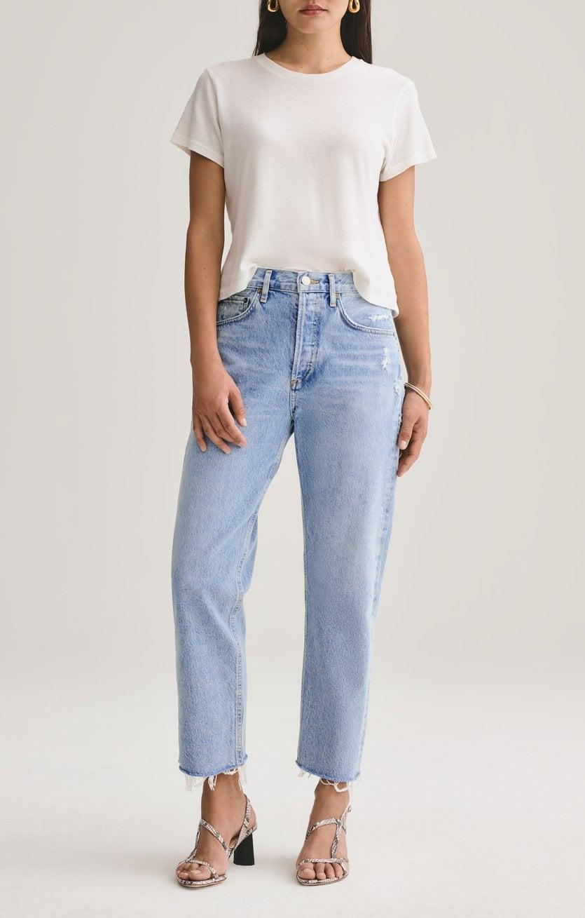 """<p>""""I love these <span>Agolde Parker Easy Straight Jeans</span> ($188). They are definitely an investment but the are premium denim and so nicely made. The classic cut means they will look great for a few seasons. They are so comfortable!"""" - Dana Avidan Cohn, Executive Style Director</p>"""
