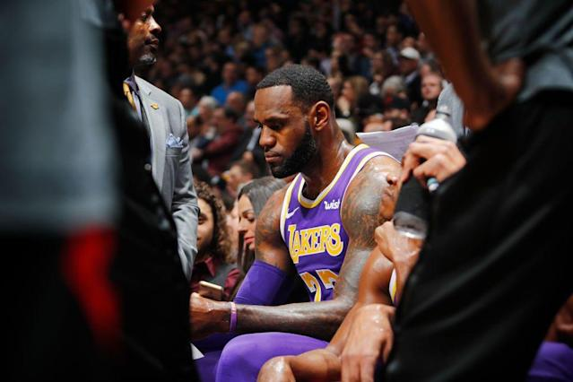 How can you leave LeBron James on the sidelines of an All-NBA roster? (Getty Images)