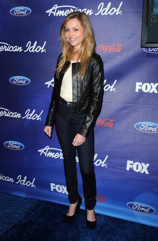 """Kristi Lauren of """"<a href=""""http://tv.yahoo.com/i-hate-my-teenage-daughter/show/47413"""">I Hate My Teenage Daughter</a>"""" attends the Season 11 """"<a href=""""http://tv.yahoo.com/american-idol/show/34934"""">American Idol</a>"""" Top 13 Finalists Party on Thursday, March 1 at The Grove in Los Angeles, CA."""