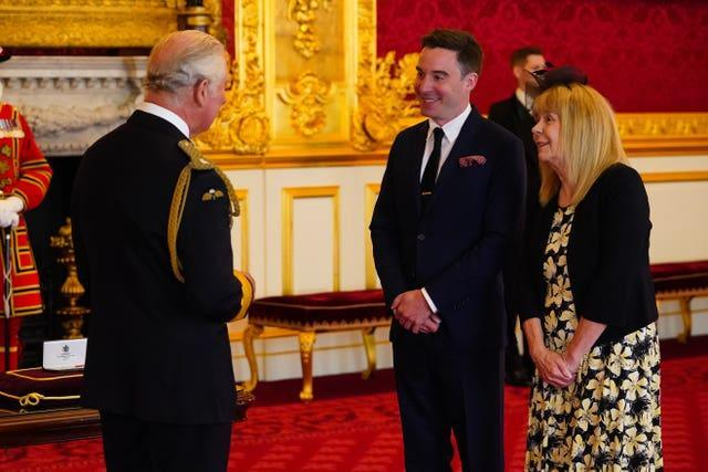 Investiture at St James's Palace