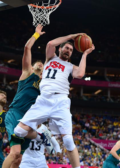 Love played for the U.S. in the 2012 London Olympics. (USA Today)