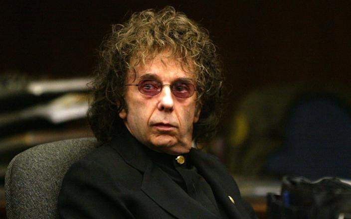 Music producer Phil Spector was convicted for the murder of Hollywood actress Lana Clarkson - Getty Images North America