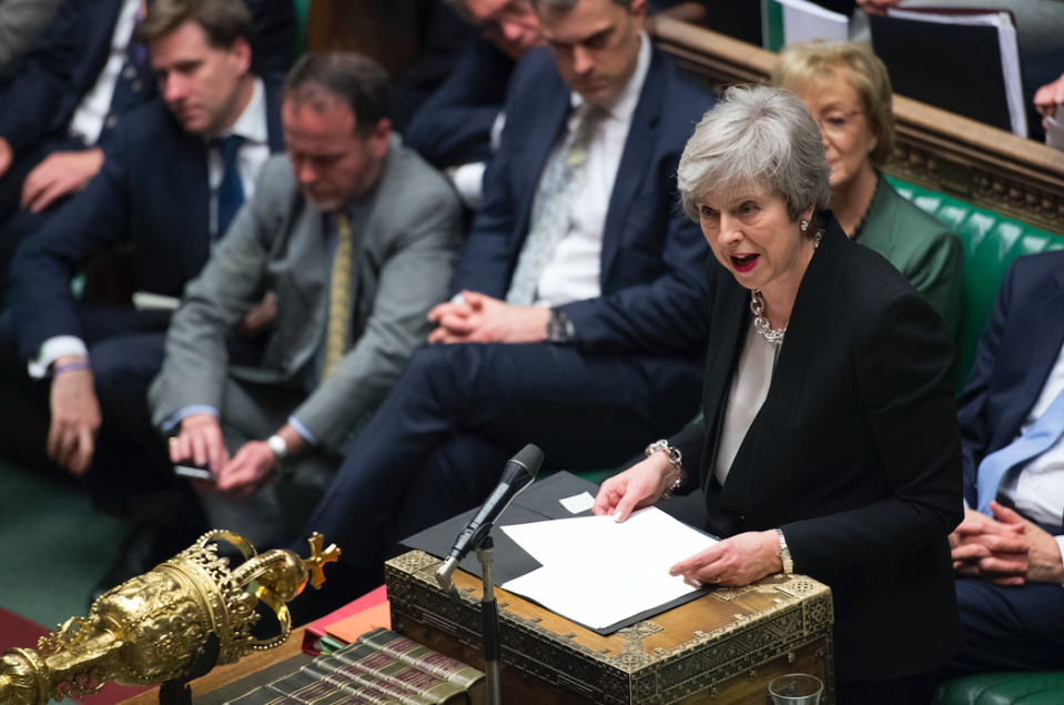 <em>The Prime Minister is hoping to talk the EU round (PA)</em>