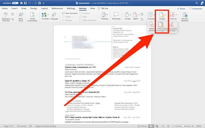 6   How to encrypt a Word document