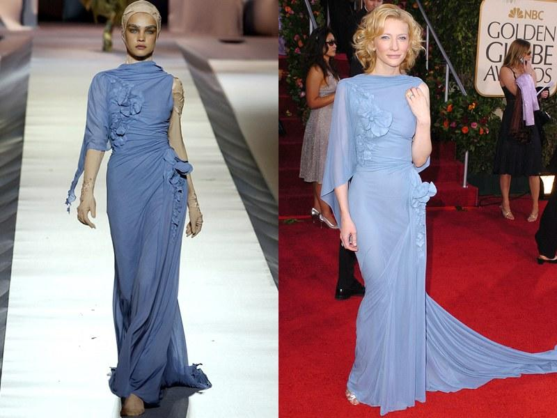 Jean Paul Gaultier Fall 2003 Haute Couture; Cate Blanchett in 2005