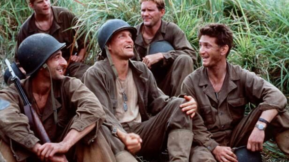 <p> After being absent from the filmmaking circuit for 20 years, Terrence Malick returned with The Thin Red Line. A lingering, slow-drawl of a war film that shows how mankind's desire to fight one another devastates nature. Cut down from a much longer version, the finished movie surprised a lot of the cast – who learned in the theatre that their roles were bigger/smaller than expected. It's the thin red line of the title, which is, according to Malick, what separates the sane from the mad, that's best brought to life over and over in the performances of its soldiers. In particular? Nick Nolte's unhinged Colonel; possibly his best-ever role. </p>
