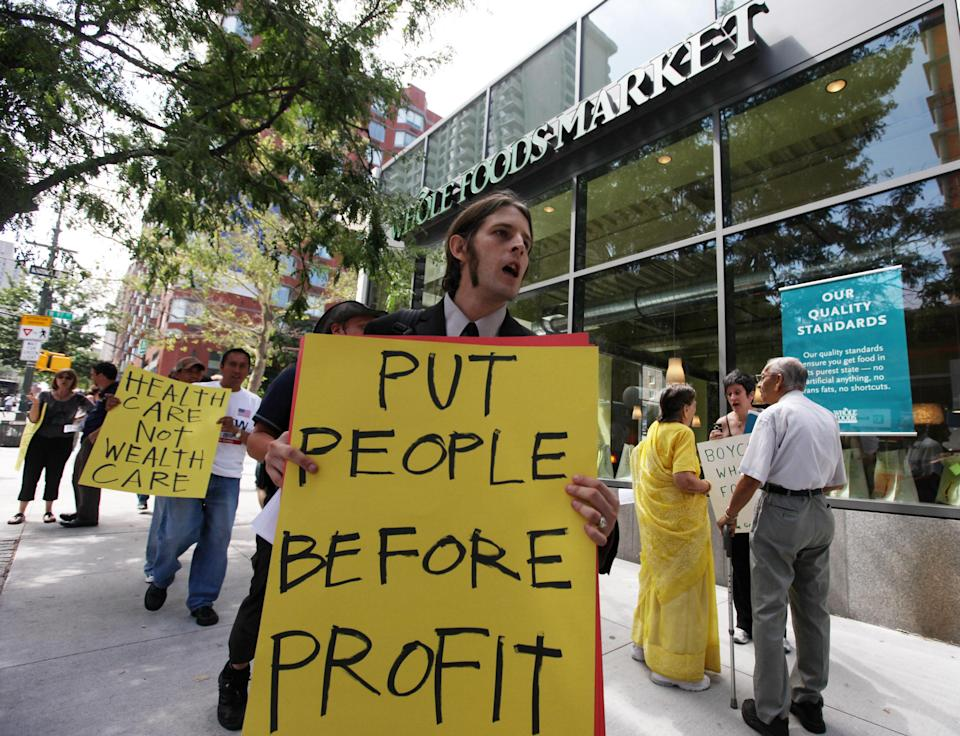 Whole Foods vows to improve employees benefits. (Getty Images)