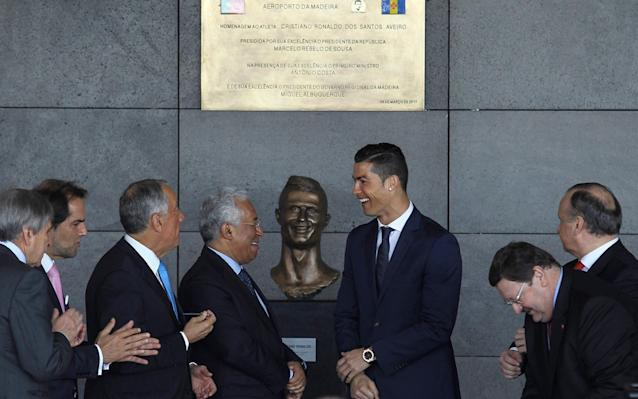 'Even Jesus did not please everyone': Cristiano Ronaldo bust sculptor defends his bizarre design