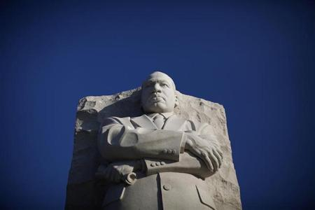 Martin Luther King Jr. Memorial is shown in Washington August 22, 2011. REUTERS/Jason Reed/Files