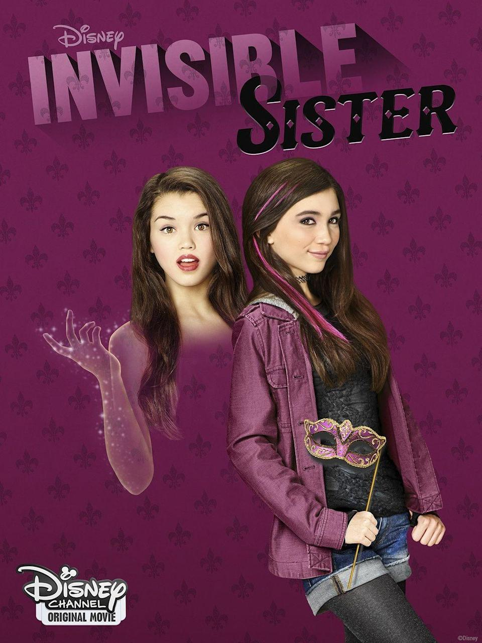 """<p>Molly and Cleo may be sisters, but they're total opposites. When Molly starts to go invisible thanks to Cleo's science experiment, Cleo must try to figure out how to reverse the affects before they turn permanent at midnight. </p><p><a class=""""link rapid-noclick-resp"""" href=""""https://go.redirectingat.com?id=74968X1596630&url=https%3A%2F%2Fwww.disneyplus.com%2Fmovies%2Finvisible-sister%2F4XLkQ95dRew5&sref=https%3A%2F%2Fwww.seventeen.com%2Fcelebrity%2Fmovies-tv%2Fg29354714%2Fnon-scary-halloween-movies%2F"""" rel=""""nofollow noopener"""" target=""""_blank"""" data-ylk=""""slk:Watch Now"""">Watch Now</a></p>"""