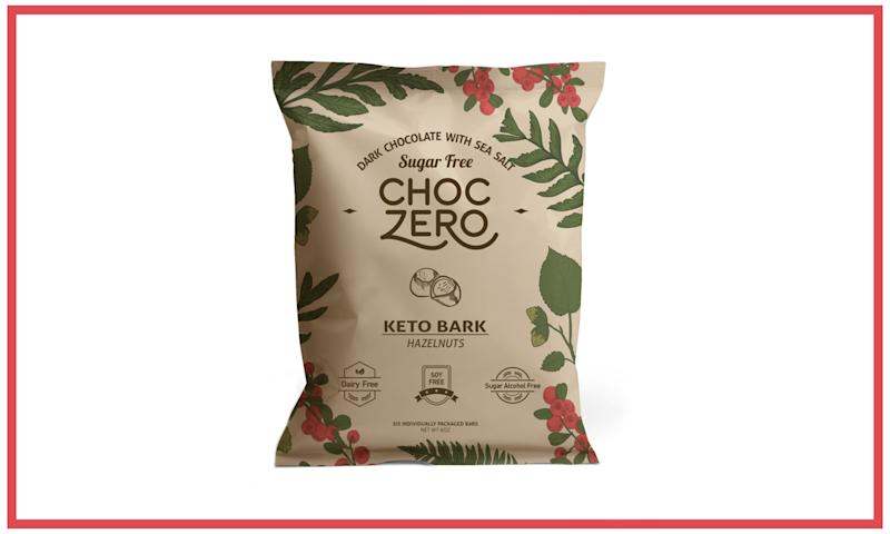 ChocZero Keto Bark. (Photo: Courtesy of ChocZero)