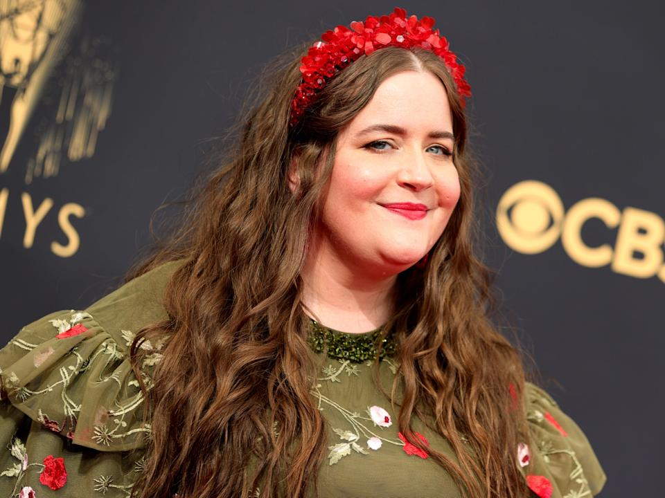 Aidy Bryant at the 73rd Primetime Emmy Awards (Rich Fury/Getty Images)