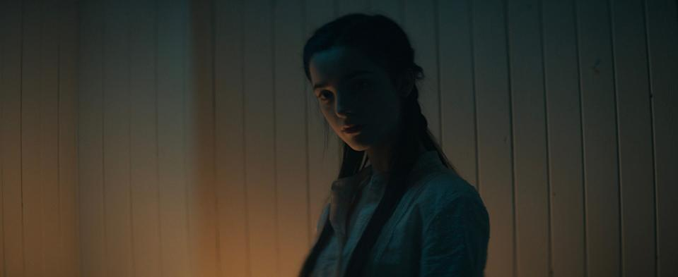 """Jessica Reynolds stars as the teen daughter who's been kept secret her entire life in the period horror """"The Curse of Audrey Earnshaw."""""""