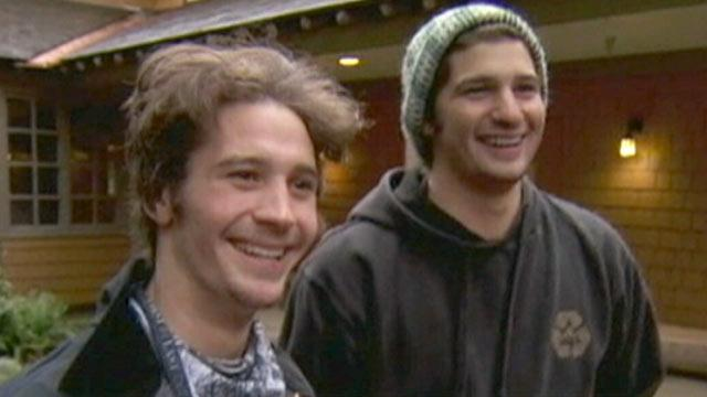 Rescued Snowboarders Credit Will Power for Survival