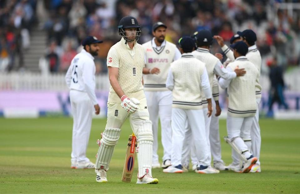 Dom Sibley has been dropped by England during the India series (Getty)