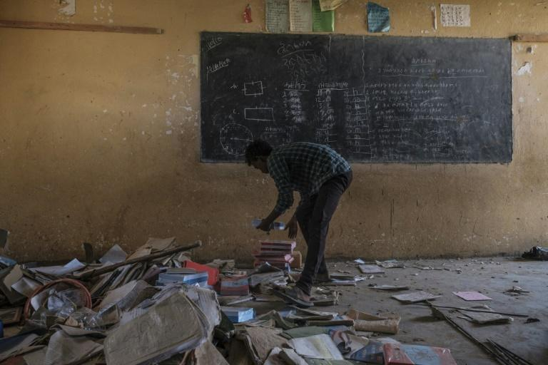 Buildings in Wukro including schools and hospitals have been looted, with residents blaming Eritrean troops