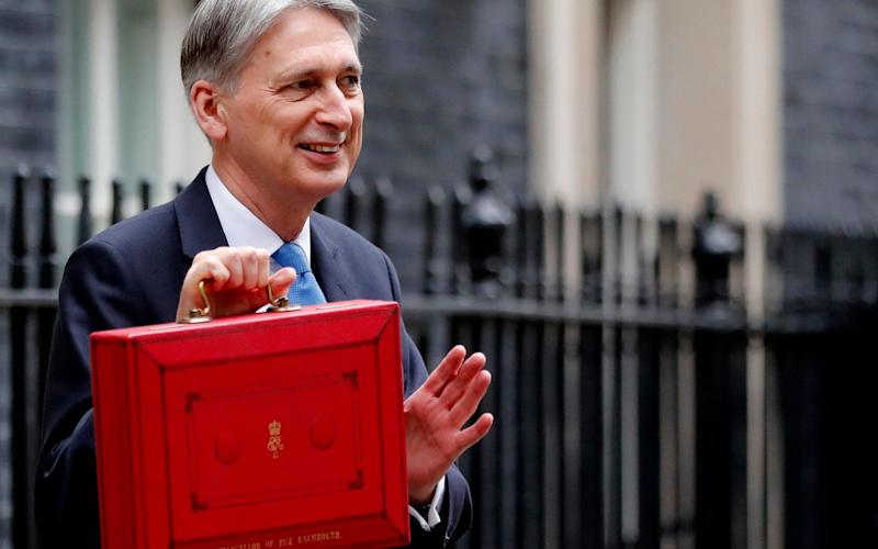 Philip Hammond will deliver a crucial Budget on October 29 - AP