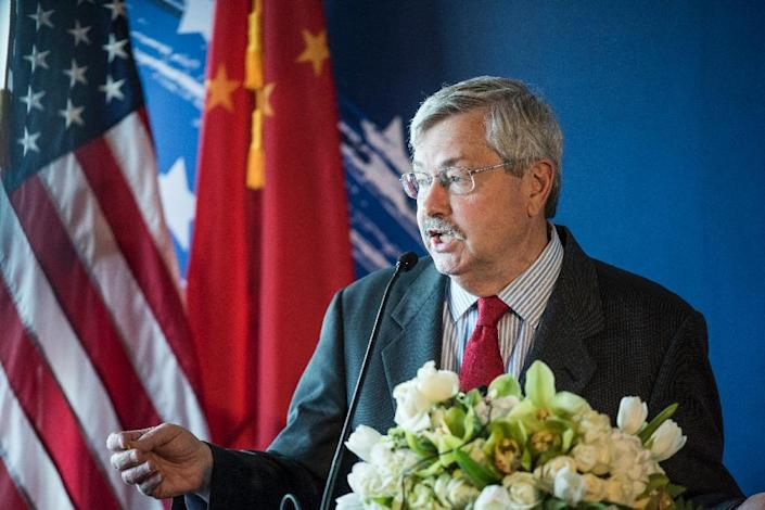 Terry Branstad will be the first US envoy to visit Tibet in four years (AFP Photo/FRED DUFOUR)
