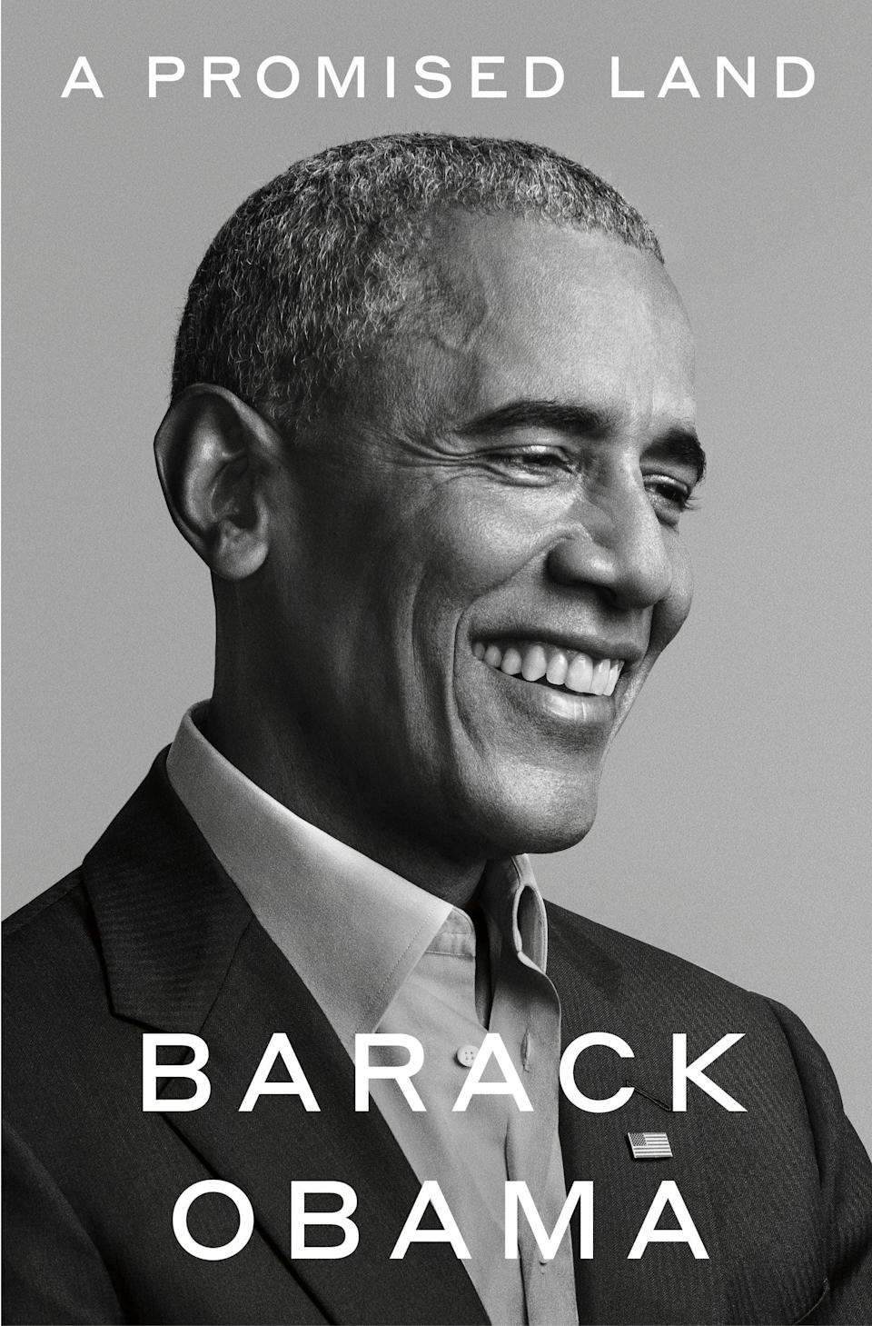 <p>Former President Barack Obama's highly anticipated memoir, <span><strong>A Promised Land</strong></span>, will take readers inside his storied political career from his earliest forays into politics to his first term in the White House. In his own words, Obama is giving readers a front-row seat to history as he opens up about what it was like to hold the most powerful office in the land.</p> <p><em>Out Nov. 17</em></p>