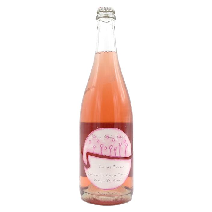 """A playful organic pet-nat with bright and juicy notes, this sparkling wine is an excellent pick for a picnic as it will hold up to strong flavors, and even a bit of sun. This favored natural wine is produced by fifth-generation winemakers on what is now an entirely organic estate. $30, Vivino. <a href=""""https://www.vivino.com/la-grange-tiphaine-rosa-rose-rosam/w/1743983"""" rel=""""nofollow noopener"""" target=""""_blank"""" data-ylk=""""slk:Get it now!"""" class=""""link rapid-noclick-resp"""">Get it now!</a>"""