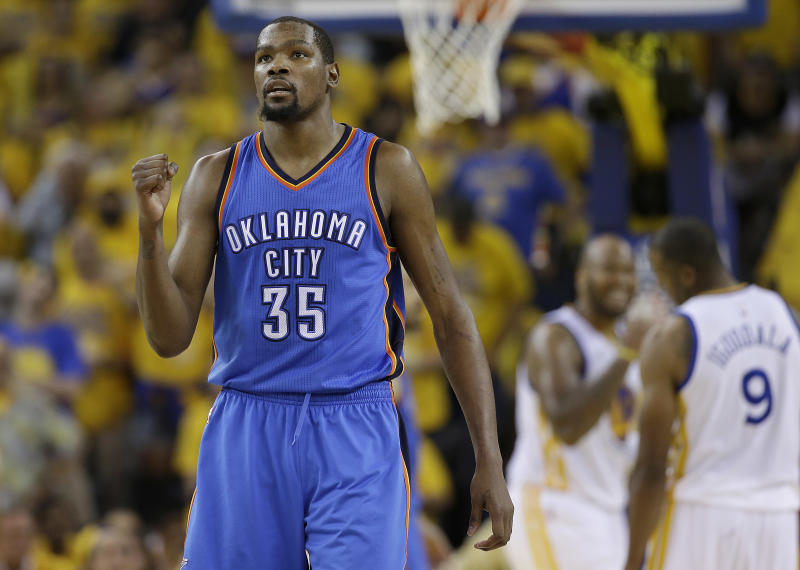 Kevin Durant slammed his former general manager earlier this month, saying he didn't trust anyone in the organization where he started his career.