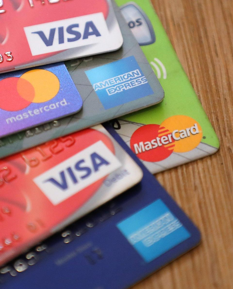 A selection of payment cards (PA Archive)
